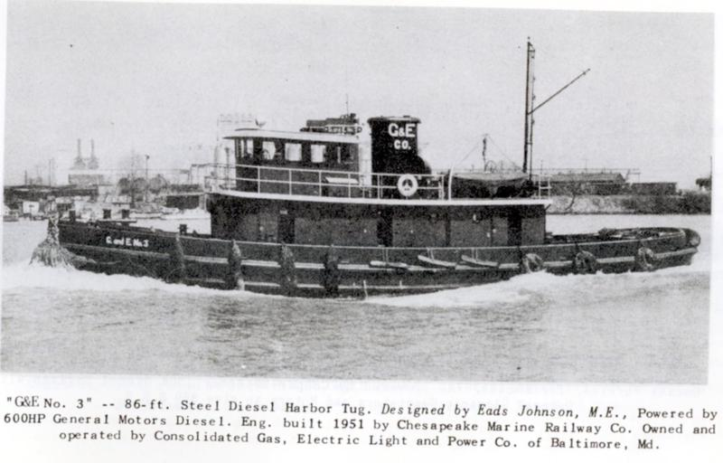 Tugboat information for Electric motor repair baltimore